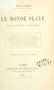 Le monde slave by Leger, Louis
