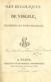 Cover of: Bucolica by Publius Vergilius Maro