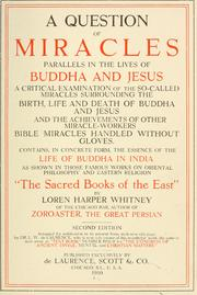 A question of miracles by Loren Harper Whitney