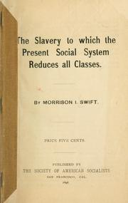 The slavery to which the present social system reduces all classes PDF