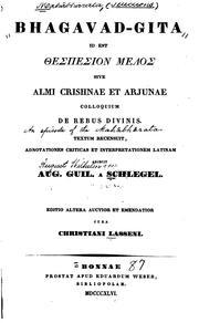 Bhagavad-gita, id est thespesion melos, sive almi Crishnae et Arjunae colloquim de rebus divinis