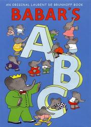 Babar&#39;s ABC by Laurent de Brunhoff