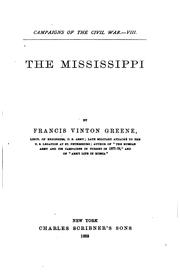 The Mississippi by F. V. Greene