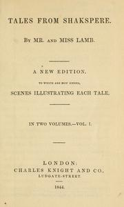Cover of: Tales from Shakespeare by Charles Lamb