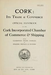 Cork, its trade & commerce