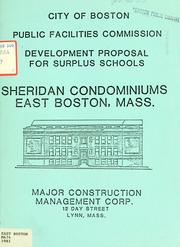 Sheridan condominiums, east Boston, mass PDF