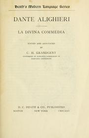 Cover of: La Divina commedia by Dante Alighieri