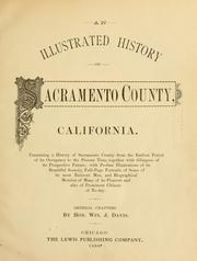 Cover of: An illustrated history of Sacramento County, California by Winfield J. Davis