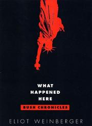 What Happened Here by Eliot Weinberger