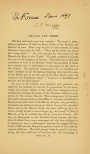 Church and creed PDF