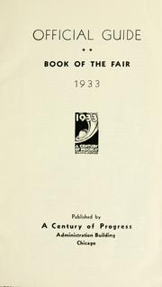 Official guide book of the fair, 1933 PDF