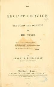 The secret service, the field, the dungeon, and the escape PDF