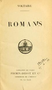 Romans by Voltaire