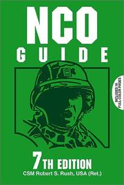 NCO guide by Robert S. Rush