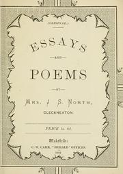 Essays and poems PDF