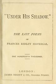 Under his shadow PDF