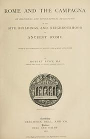 Rome and the Campagna by Burn, Robert