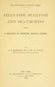 Jelly-fish, star-fish and sea-urchins by Romanes, George John
