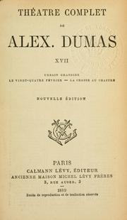 Thtre complet by Alexandre Dumas