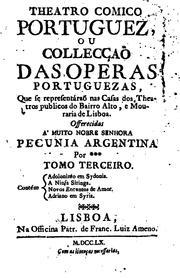 Theatro comico portuguez, ou Collec PDF