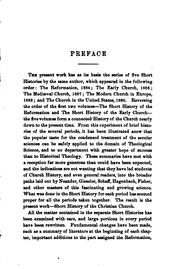 Short History of the Christian Church PDF