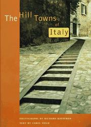 The hill towns of Italy by Richard Kauffman