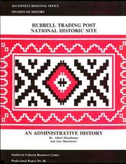Hubbell Trading Post National Historic site by Albert D. Manchester