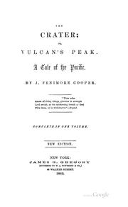 The Crater: Or, Vulcan's Peak. A Tale of the Pacific PDF