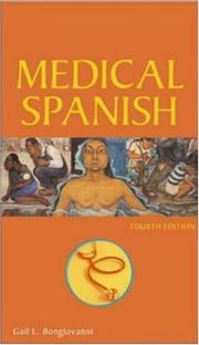 Medical Spanish by Gail Bongiovanni