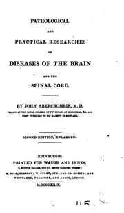 Pathological and Practical Researches on Diseases of the Brain and Spinal Cord PDF