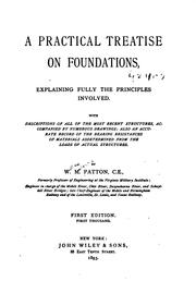 A Practical Treatise on Foundations, Explaining Fully the Principles .. PDF