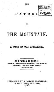 The Patrol of the Mountain: A Tale of the Revolution PDF
