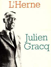 Julien Gracq by Jean-Louis Leutrat