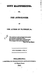 Guy Mannering, or, The astrologer by Sir Walter Scott