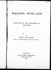 Walking with God by John Haldane