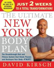 The Ultimate New York Body Plan by David Kirsch