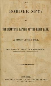 The border spy, or, The beautiful captive of the rebel camp PDF