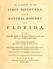 An account of the first discovery, and natural history of Florida by Roberts, William