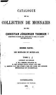 Catalogue de la collection de monnaies