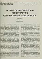 Apparatus and procedure for extracting corn rootworm eggs from soil PDF