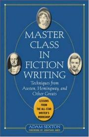 Master Class in Fiction Writing PDF