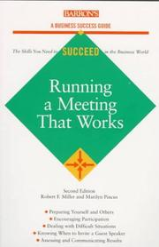 Running a meeting that works PDF