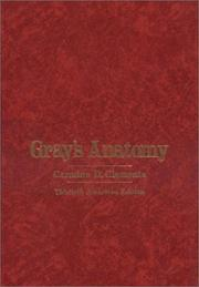 Cover of: Anatomy of the human body by Henry Gray
