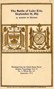 The battle of Lake Erie, September 10, 1813 PDF