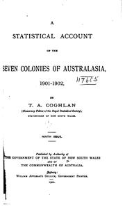 A Statistical Account of Australia and New Zealand