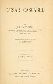 Cover of: Cesar Cascabel by Jules Verne