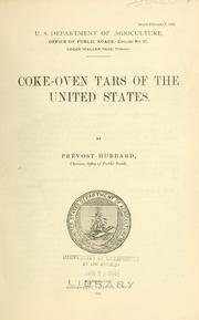 Coke-oven tars of the United States PDF