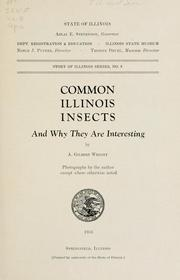 Common Illinois insects PDF