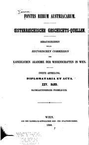 Fontes Rerum Austriacarum