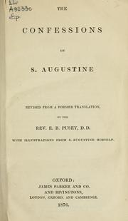 Confessiones by Augustine of Hippo